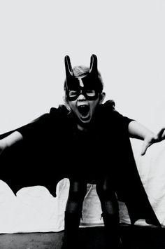 Bat(wo)man!