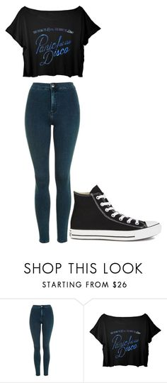 """Untitled #266"" by cruciangyul on Polyvore featuring Topshop and Converse"