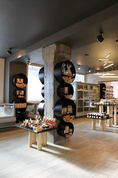 BIOSTORIA natural products store by FRISHMANN, Moscow store design
