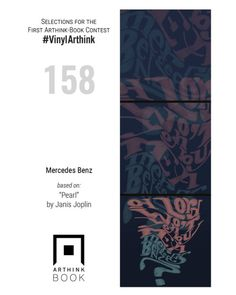 "#VinylArthink contest  entry 158    ""Mercedes Benz""    based on: ""Pearl""   by Janis Joplin    https://www.youtube.com/watch?v=uUNSnVrK-Nw    #arthinkeditions #arthink #contest #entry #art #illustration #pearl #janisjoplin #mercedes #benz #graphic #arthinkbook"