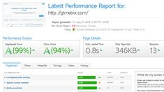 GTmetrix is a free tool that analyzes your page's speed performance. Using PageSpeed and YSlow, GTmetrix generates scores for your pages and offers actionable recommendations on how to fix them. Inbound Marketing, Marketing Digital, Content Marketing, Seo Site, Site Web, Free Seo Tools, Campaign Monitor, Website Security, Marketing Approach