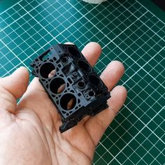 Engine Block by de3dprintman #prusasl1