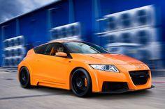 Honda CRZ, looking sharp in orange