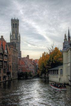 visitheworld: Autumn in Bruges, Belgium