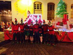 Cientos de niños y mayores reciben a Papa Noel en Segorbe