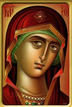 Fun Hobby That Make Money - Interesting Hobby How To Make - Hobby Horse Friese - Byzantine Icons, Byzantine Art, Blessed Mother Mary, Blessed Virgin Mary, Religious Icons, Religious Art, Architecture Religieuse, Greek Icons, Religion