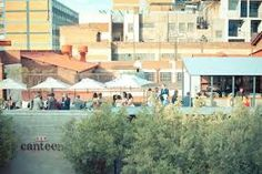 Spaza is a large events company in the Maboneng Precinct, Johannesburg. They run a large number of venue sites in this area. The image above is of the Canteen venue To My Future Wife, Event Company, Rooftop, My Images, Wedding Venues, Wedding Ideas, South Africa, Maine, Street View