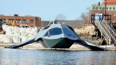 GHOST is a prototype military boat, that is claimed to be the world's first super-cavitating watercraft.
