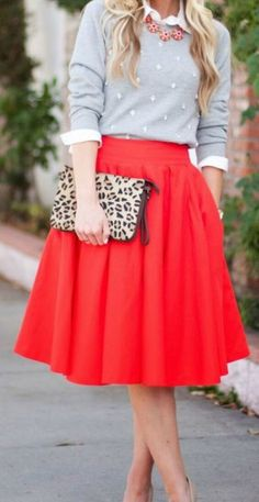 Grease, vintage, oldschool, 50's skirt, 50s style, sweater