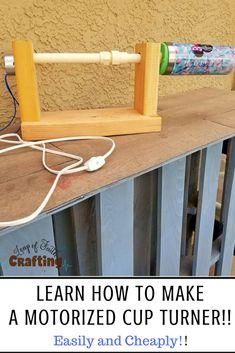 Diy How I Built A Multiple Rotisserie Cup Turner Tricks Of Tha Trade Pinterest