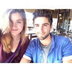 Grace Victoria Cox & Max Ehrich