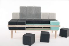 Bloc'd Sofa Can Morph Into The Couch You Need At Any Moment