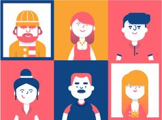 Digital Character design inspiration