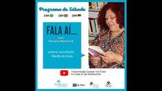 Programa de Sábado: Fala Aí... Marilis de Assis - 10 abril 2021 Youtube, Log Projects, Therapy, Authors, Youtubers, Youtube Movies