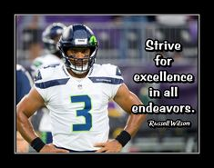 Russell Wilson Inspirational Quote Wall Art Poster, Birthday Gift for SON Champion Rams Football Photo Decor, by ArleyArt Football Wall, Football Photos, Football Players, Football Helmets, Lacrosse, Hockey, Wall Art Quotes, Quote Wall, Football Motivation