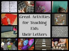 Meaningful Mama: Great Activities for Teaching Kids to Really Know their Letters