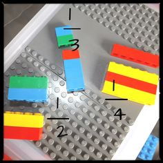 LEGO Math Ideas - Part 3 out of 5 parts!  Is that 3/5ths?  why, yes it is!