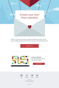 @prezicom  sent this email with the subject line: Prezi Email: Valentine's Day 2017 - Read about this email and find more holiday emails at ReallyGoodEmails.com #gif #holiday #personalised #promotional #valentinesday