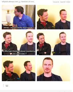 James McAvoy . Michael Fassbender . Perfect Cast !!