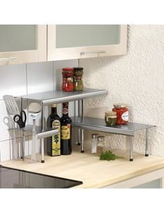 Bathroom cabinets and storage units - Tier Corner Storage Shelf Stainless Steel Shelves Home And Storage