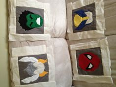 Captain America Quilt Block Pattern SUPERHERO QUILT by wolftlou