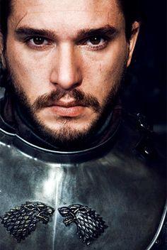 """harleygrenade: """"""""Jon and Robb's matching Stark insignia. """" """""""