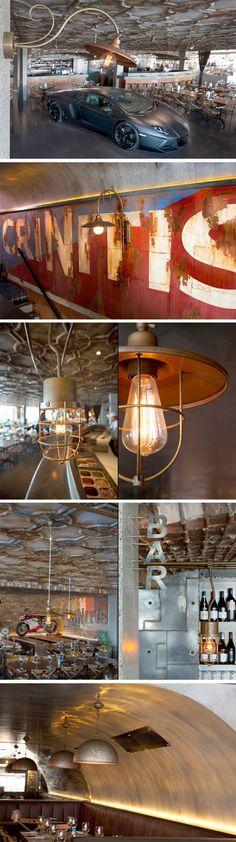 Criniti's restaurant, Australia. Australia, Restaurant, Concept, Ceiling Lights, Lighting, Store, Ideas, Home Decor, Decoration Home
