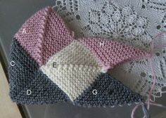 Ulla - Mummojemme neuleet - Dominotossut Bed Socks, Knitted Slippers, Mittens, Crochet Hats, Beanie, Stitch, Knitting, Pattern, Ideas