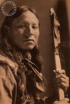 Sioux male portrait, 1898, by Gertrude Käsebier