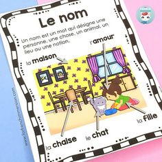 Les classes de mots - French Parts of Speech Posters Core French, French Class, French Lessons, French Teacher, Teaching French, Classroom Management Techniques, French Grammar, French Resources, French Immersion