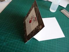 Scrap' pages: carte chevalet Stampin Up, Container, Folded Cards, Group, Foil Stamping, Stamping Up