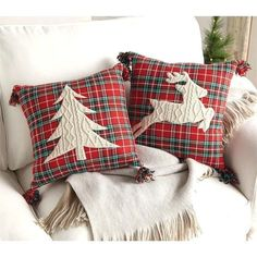 Most up-to-date Free of Charge christmas Sewing ideas Concepts Super diy christmas pillows xmas ideas Christmas Sewing, Plaid Christmas, Rustic Christmas, Christmas Projects, Christmas Quilting, Christmas Christmas, Sewing Pillows, Diy Pillows, Throw Pillows