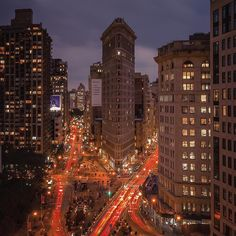 The Flatiron Building by @grimace_586 - The Best Photos and Videos of New York City including the Statue of Liberty, Brooklyn Bridge, Central Park, Empire State Building, Chrysler Building and other popular New York places and attractions.