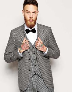 Houndstooth Suit