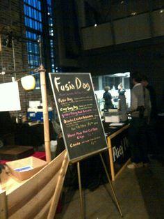 menu items for fusia dog