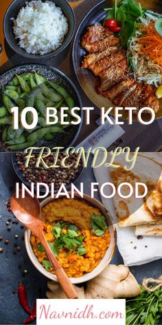 Looking for Vegetarian/Vegan Keto recipes to make in your Instant Pot or Stove Top? Here is the my collection of 10  Keto Indian Recipes from my blog. You can also find a variety of other Indian vegetarian curries ,beans, lentils and dessert recipes. #keto #ketoindianrecipes #indian #lowcarb #indianveggiedelight #instantpot