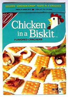 """grew up on these...  before truett cathy """"invented"""" the chicken biscuit.  ;)"""