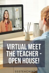 FREE Virtual Open House Back to School 2020 Meet the Teacher Ideas