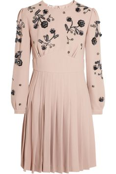 Pretty beaded Miu Miu dress.