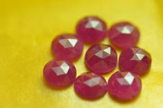 Red Ruby rose cut gemstone approx weight to # shangrilagems Crystal Beads, Crystals, Red Gemstones, Chakra Stones, Ruby Rose, Heart Chakra, Healing Stones, All The Colors, Geology