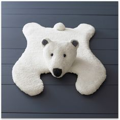 Phildar - PolarBear Baby Pillow - pattern in French