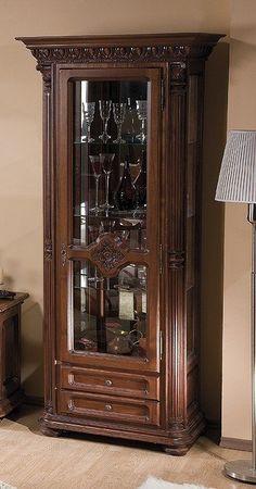 vitrina living Venetia lux Verona, China Cabinet, Liquor Cabinet, Storage, Interior, Furniture, Home Decor, Cabinets, Purse Storage