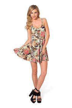 Koi Scoop Skater Dress by Black Milk Clothing $85AUD