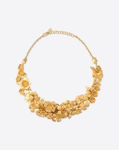 VALENTINO GARAVANI Women Flower necklace  50172413EH