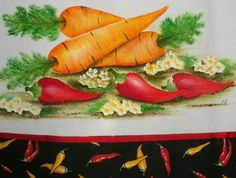 Vilma Varanda Pinturas : Como pintar Cenoura