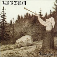 Burzum Filosofem on 180g 2LP To fans and extreme metal followers, the early Burzum years facilitated the rise of the initial wave of Norwegian black metal. It was in this period that the world would c