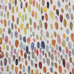 Whimsical bright fabric by Grey Watkins! #textile #design #colorful