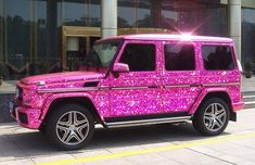 wagon r pink color - Pink Things Pink Things Fancy Cars, Cool Cars, Pink Range Rovers, Glitter Car, Wagon R, Pink Jeep, Girly Car, Lux Cars, Truck Accessories