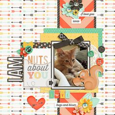 Nuts About You - Scrapbook.com