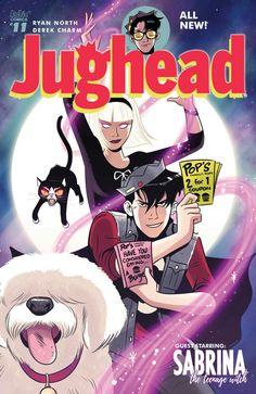 Jughead and Sabrina   Jughead issue 11 #sabrina #jughead